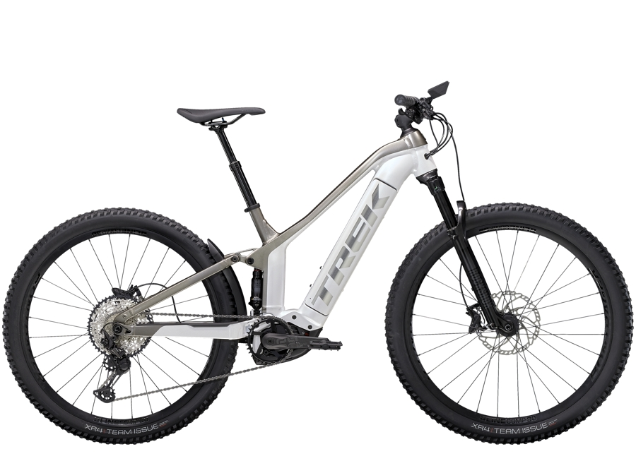 Trek Powerfly FS 7 XS (27.5  wheel) Crystal White/Metallic Gunmetal